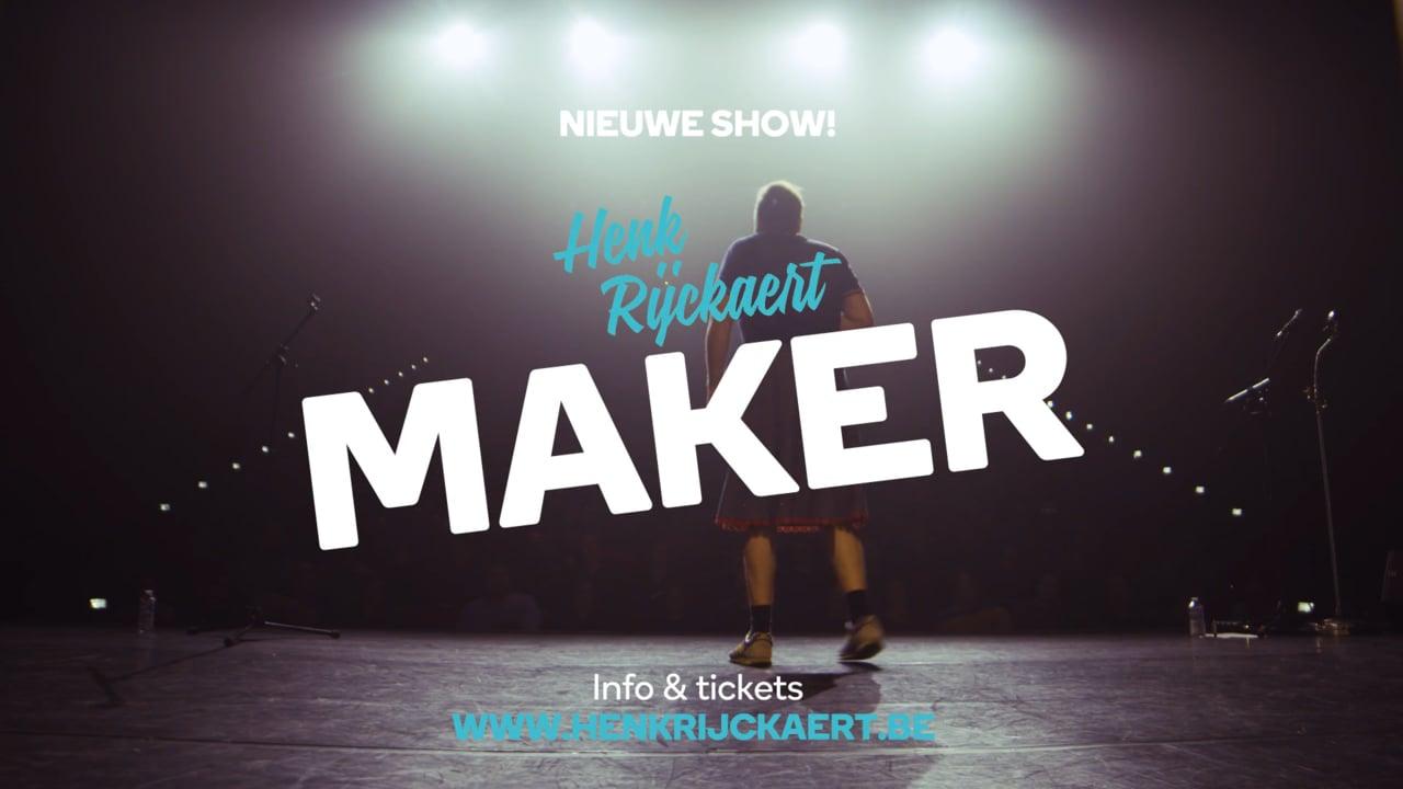 Henk Rijckaert – Maker